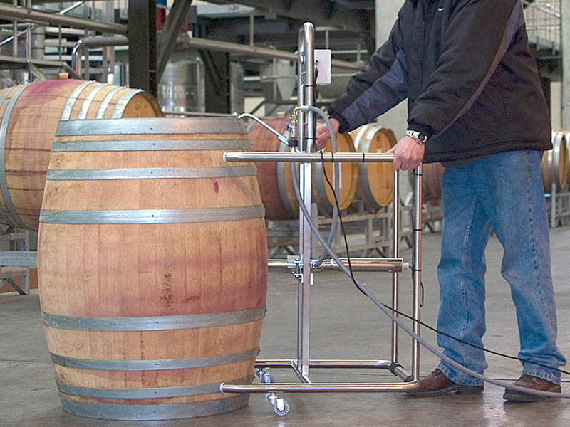 Barrel Cleaning step 1
