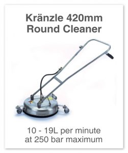Kranzle-420mm-Round-Cleaner