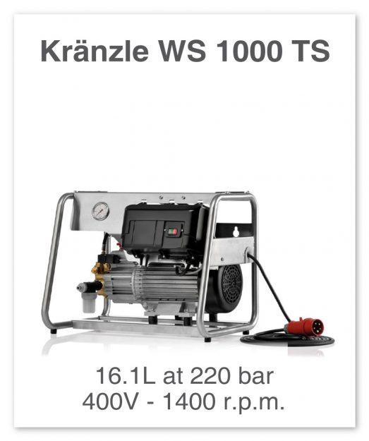Kranzle-WS-1000-TS