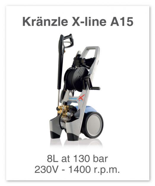 Kranzle-X-Line-A15-TST